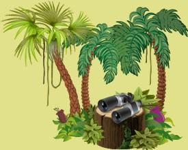 Occupez-vous des animaux de la jungle appartenant aux autres joueurs dans votre réserve tropicale et faites-les progresser continuellement.